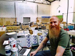 Chris from Miorge Mihoublon - Bières artisanales sélectionnées, you